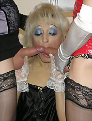 Tgirl Kirsty and her slutty..